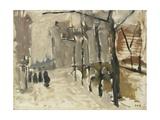 View in the Hague  George Hendrik Breitner  C 1880-1923
