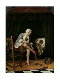 Woman at Her Toilet  1655-60