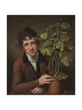 Rubens Peale with a Geranium  1801