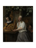 The Baker Arent Oostwaard and His Wife  Catharina Keizerswaard  1658