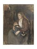 Nordic Madonna  C 1890-1910