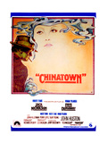 Chinatown  Spanish Poster Art  Jack Nicholson  Faye Dunaway  1974