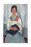 Gypsy Woman with Baby  1919