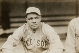 Babe Ruth When He Played for the Boston Red Soxs  Ca 1919