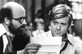 The Candidate  from Left: Peter Boyle  Robert Redford  1972