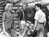Ace in the Hole  (AKA the Big Carnival)  from Left  Jan Sterling  Kirk Douglas  Robert Arthur  1951