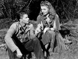 Juke Girl  from Left  Ronald Reagan  Ann Sheridan  1942
