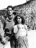 Duel in the Sun  from Left  Gregory Peck  Jennifer Jones  1946