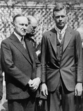 President Calvin Coolidge with Medal of Honor Recipient  Charles Lindbergh
