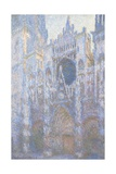 Rouen Cathedral  West Facade  1894