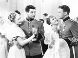 Gunga Din  from Left: Ann Evers  Cary Grant  Joan Fontaine  Douglas Fairbanks Jr  1939