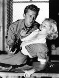 Detective Story  from Left  Kirk Douglas  Eleanor Parker  1951