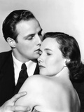 The Men  from Left  Marlon Brando  Teresa Wright  1950