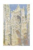 Rouen Cathedral  West Facade  Sunlight  1894