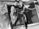 Buck Rogers  from Left  Jackie Moran  Buster Crabbe  1939