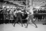Jack Dempsey  World Heavyweight Champion  in Training Match  Ca 1922-26