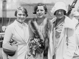 1924 Olympic Champions Aileen Riggin  Gertrude Ederle  and Helen Wainwright