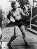 Jack Dempsey  World Heavyweight Champion  Training at Michigan City  Indiana  Ca 1922