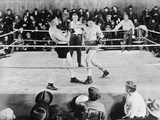 Jack Dempsey  World Heavyweight Champion Boxing in the Ring  Ca 1922-26