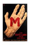 M  (AKA M - Eine Stadt Sucht Einen Morder)  Poster  1931