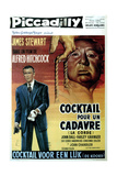 Rope  (AKA Cocktail Pur Un Cadavre)  James Stewart  Director Alfred Hitchcock  1948