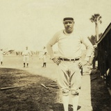 Babe Ruth  at Spring Training in St Petersburg  Florida  1930