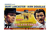 Gunfight at the OK Corral  (AKA Geweervuur Te OK Corral  Aka Defi a OK Corral)  Belgian  1957