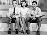 Second Chorus  from Left  Fred Astaire  Paulette Goddard  Artie Shaw  1940