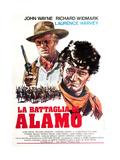 The Alamo  (AKA La Battaglia Di Alamo)  from Left: Richard Widmark  John Wayne  1960