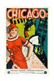 Chicago  Left: Phyllis Haver on Swedish Poster Art  1927