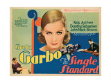 The Single Standard  Top: Greta Garbo  Bottom  from Left: Nils Asther  Johnny Mack Brown  1929