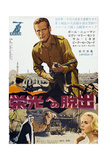 Exodus  Top: Paul Newman  Bottom: Paul Newman  Eva Marie Saint on Japanese Poster Art  1960
