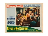 River of No Return  Marilyn Monroe (Yellow Gown)  1954