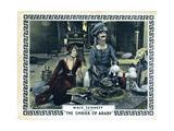The Shriek of Araby  from Left  Kathryn Mcguire  Ben Turpin  1923
