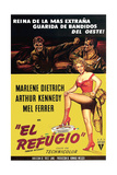 Rancho Notorious  from Left  Arthur Kennedy  Mel Ferrer  Marlene Dietrich  1952