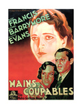 Guilty Hands  from Left: Kay Francis  Madge Evans  Lionel Barrymore  1931