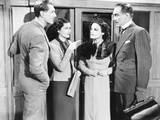 The Lady Vanishes  from Left: Michael Redgrave  Margaret Lockwood  Linden Travers  Paul Kukas  1938