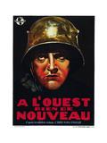 All Quiet on the Western Front  (AKA a L'Ouest Rien De Nouveau)  Belgian Poster Art  1930