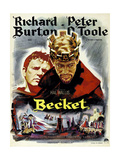 Becket  from Left  Richard Burton  Peter O'Toole  1964