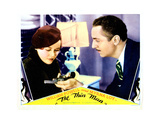 The Thin Man  from Left  Maureen O'Sullivan  William Powell  1934