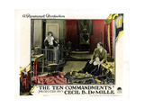 The Ten Commandments  from Left: Leatrice Joy  Nita Naldi  Rod La Rocque  1923