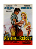 River of No Return  (AKA La Riviere Sans Retour)  1954