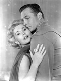 Queen of Outer Space  from Left  Zsa Zsa Gabor  Eric Fleming  1958