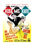 Kiss Me Kate  Howard Keel  Kathryn Grayson  (Danish Poster Art)  1953
