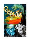 Cobra Woman (AKA Cobra-On)  Sabu  Maria Montez  Jon Hall  (Swedish Poster Art)  1944