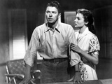 Hong Kong  from Left  Ronald Reagan  Rhonda Fleming  1952