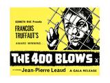 The 400 Blows  (AKA Les Quatre Cents Coups)  British Poster  Jean-Pierre Leaud  1959