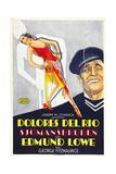 The Bad One  Swedish Poster Art  Dolores Del Rio  1930