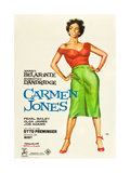 Carmen Jones  Dorothy Dandridge on Spanish Poster Art  1954