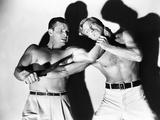 Caged Fury  from Left  Buster Crabbe  Richard Denning  1948